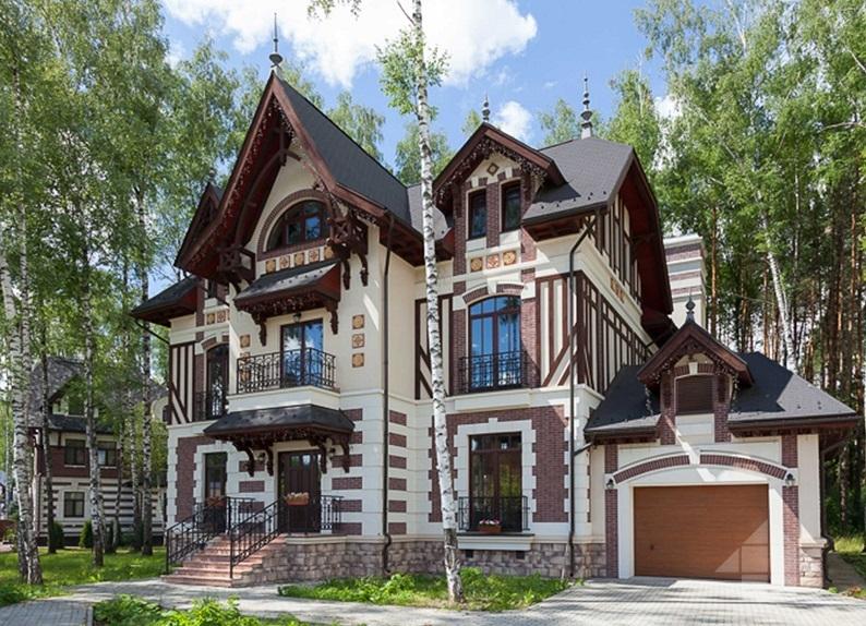 Цвет крыши и фасада: как подобрать подходящее сочетание?